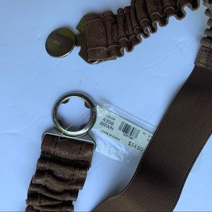 LOFT | Brown Stretchy Belt | NWT | Small S